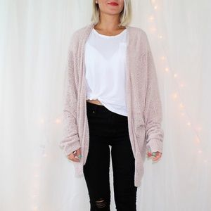 Urban Outfitters BDG Open Front Oversized Cardigan